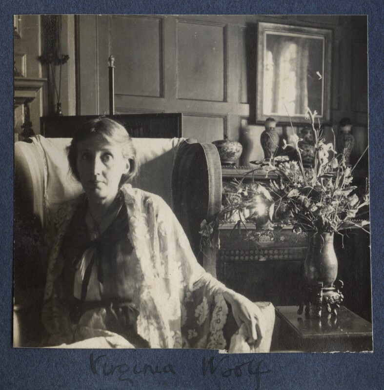 Virginia Woolf, by Lady Ottoline Morrell, June 1924 - NPG Ax141648 - © National Portrait Gallery, London