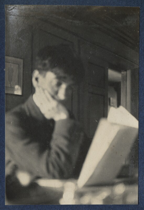 Sir Stanley Spencer, by Lady Ottoline Morrell, 5-9 July 1923 - NPG Ax141672 - © National Portrait Gallery, London