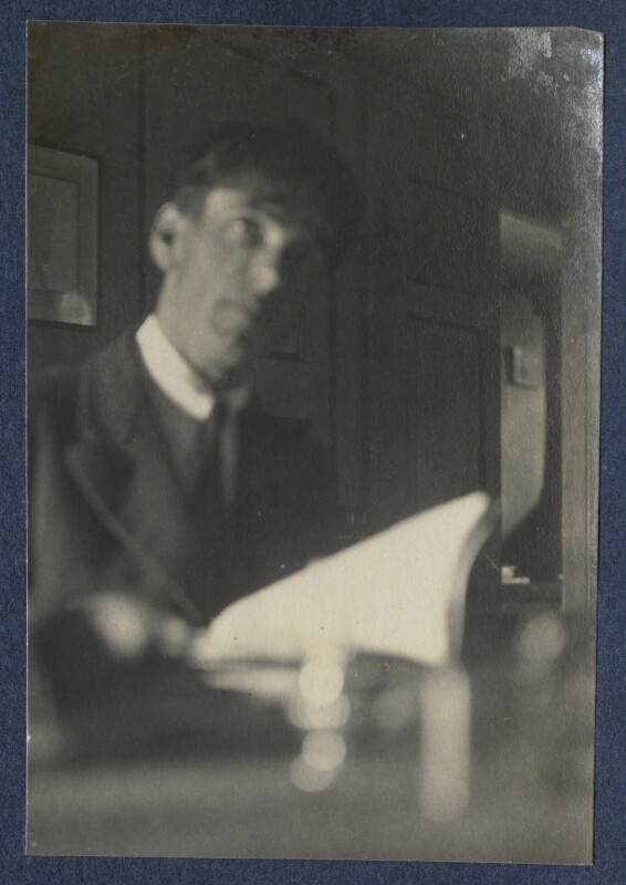 Sir Stanley Spencer, by Lady Ottoline Morrell, 5-9 July 1923 - NPG Ax141673 - © National Portrait Gallery, London