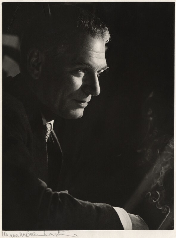 Laurence Olivier, by Angus McBean, 1962 - NPG x15451 - Angus McBean Photograph. © Harvard Theatre Collection, Harvard University.