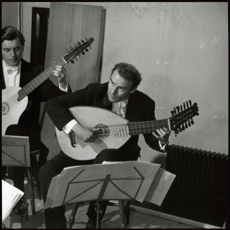 Robert Spencer; Julian Bream, by John Gay, 1950s? - NPG x127334 - © National Portrait Gallery, London