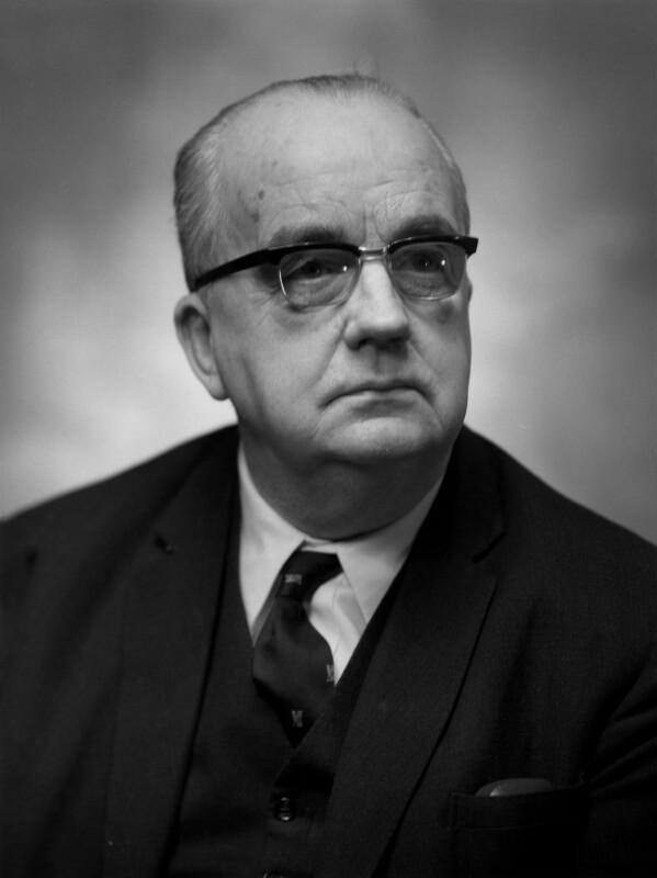 Sir (William) Leonard Owen, by Bassano Ltd, 16 February 1968 - NPG x172320 - © National Portrait Gallery, London