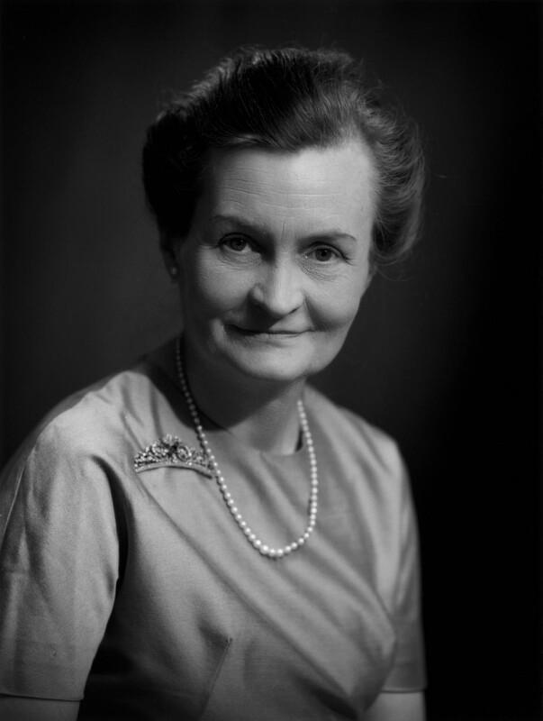 (Margaret) Betty Harvie Anderson, Baroness Skrimshire of Quarter, by Bassano Ltd, 12 June 1969 - NPG x172394 - © National Portrait Gallery, London