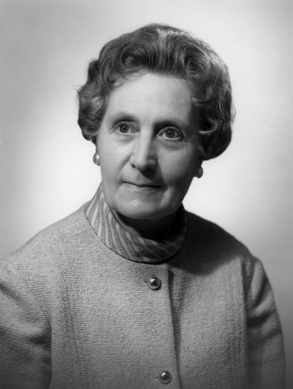 Joyce Shore Butler (née Wells), by Bassano Ltd, 19 June 1969 - NPG x172411 - © National Portrait Gallery, London