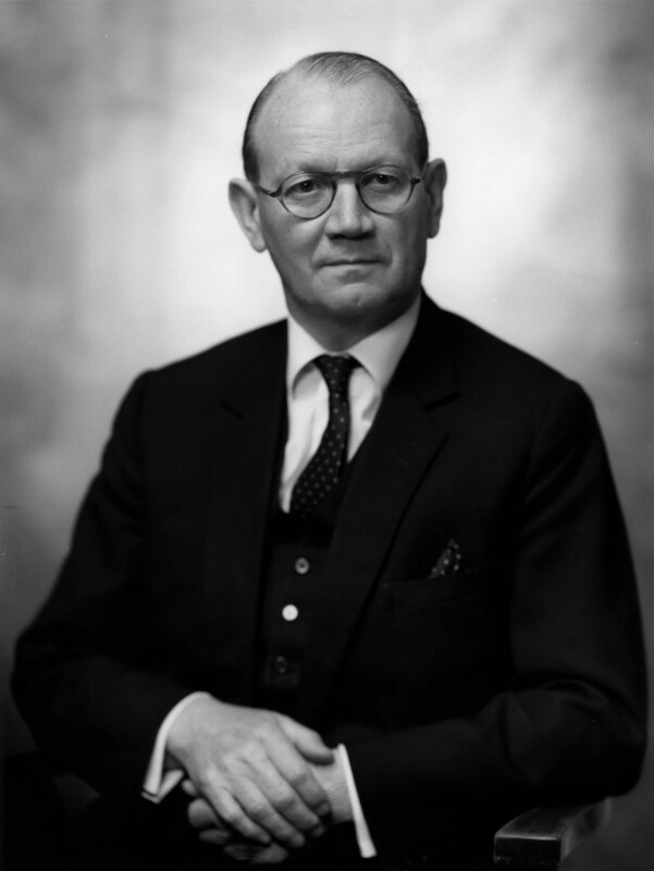 Austin Richard William ('Toby') Low, 1st Baron Aldington, by Bassano Ltd, 10 December 1969 - NPG x172470 - © National Portrait Gallery, London