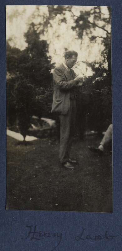 Henry Lamb, by Lady Ottoline Morrell, September 1924 - NPG Ax141763 - © National Portrait Gallery, London