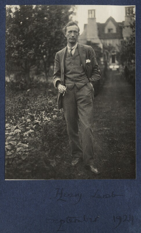 Henry Lamb, by Lady Ottoline Morrell, September 1924 - NPG Ax141764 - © National Portrait Gallery, London