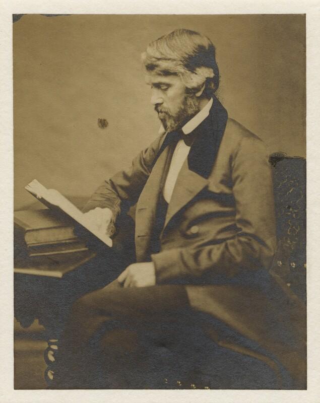 Thomas Carlyle, by Robert Scott Tait, 1855 - NPG x5641 - © National Portrait Gallery, London