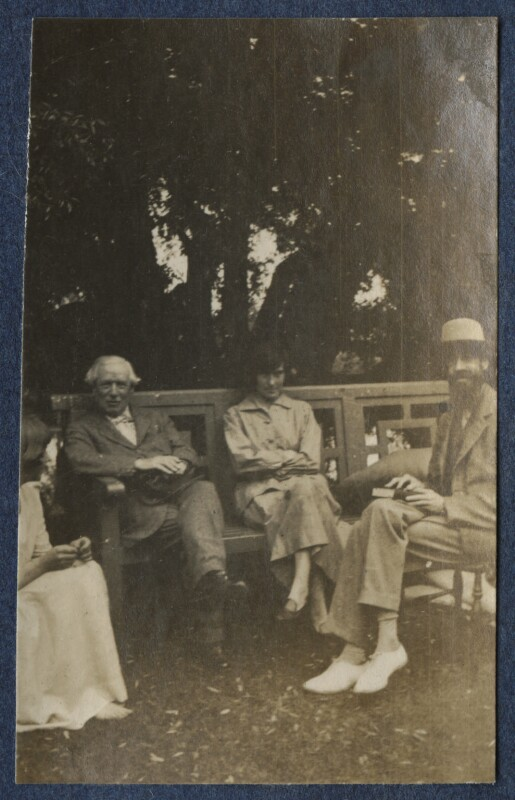 Garsington visitors, by Lady Ottoline Morrell, 1917 - NPG Ax140551a - © National Portrait Gallery, London