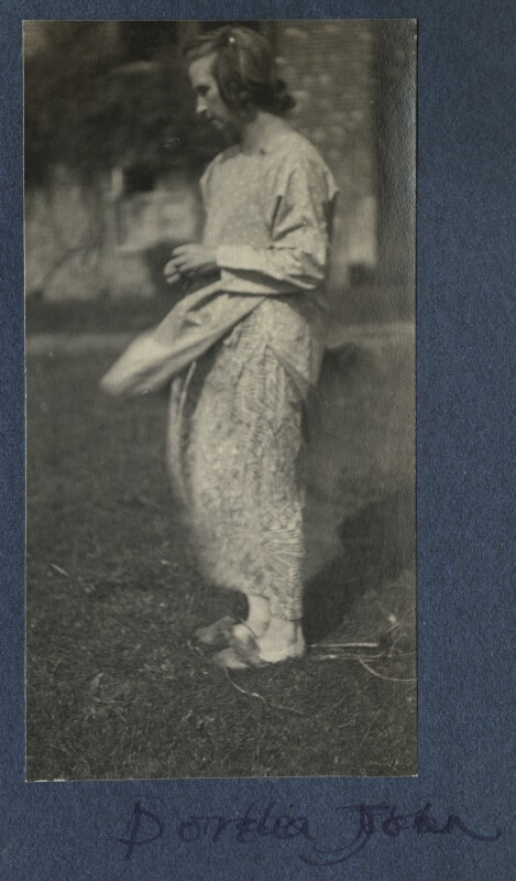 Dorelia McNeill, by Lady Ottoline Morrell, late 1924 - NPG Ax141839 - © National Portrait Gallery, London