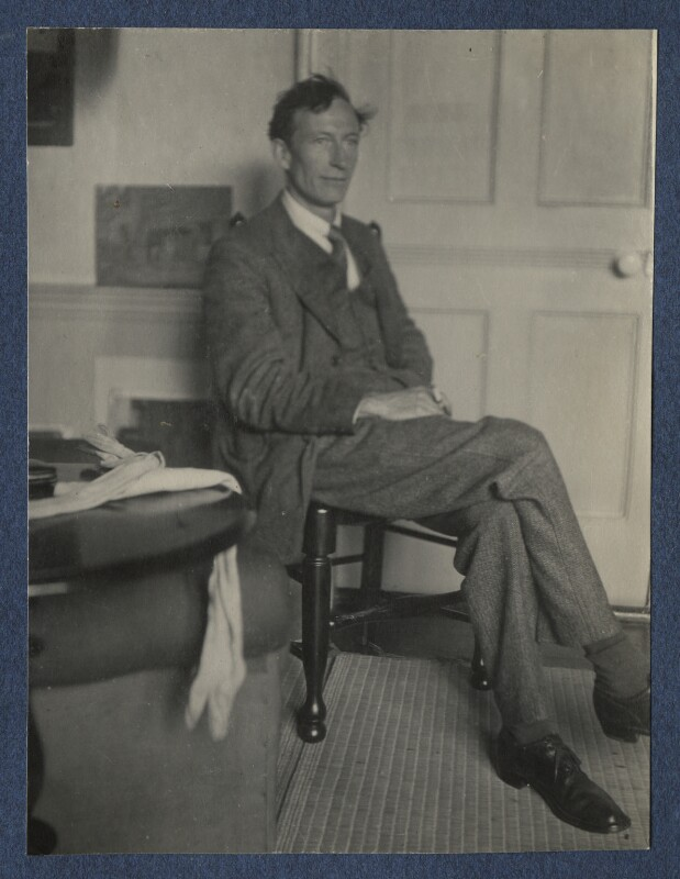 Henry Lamb, by Lady Ottoline Morrell, late 1924 - NPG Ax141910 - © National Portrait Gallery, London