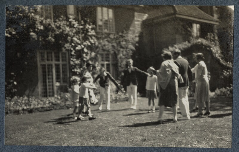 'The Wharf', by Lady Ottoline Morrell, 1925 - NPG Ax142198 - © National Portrait Gallery, London