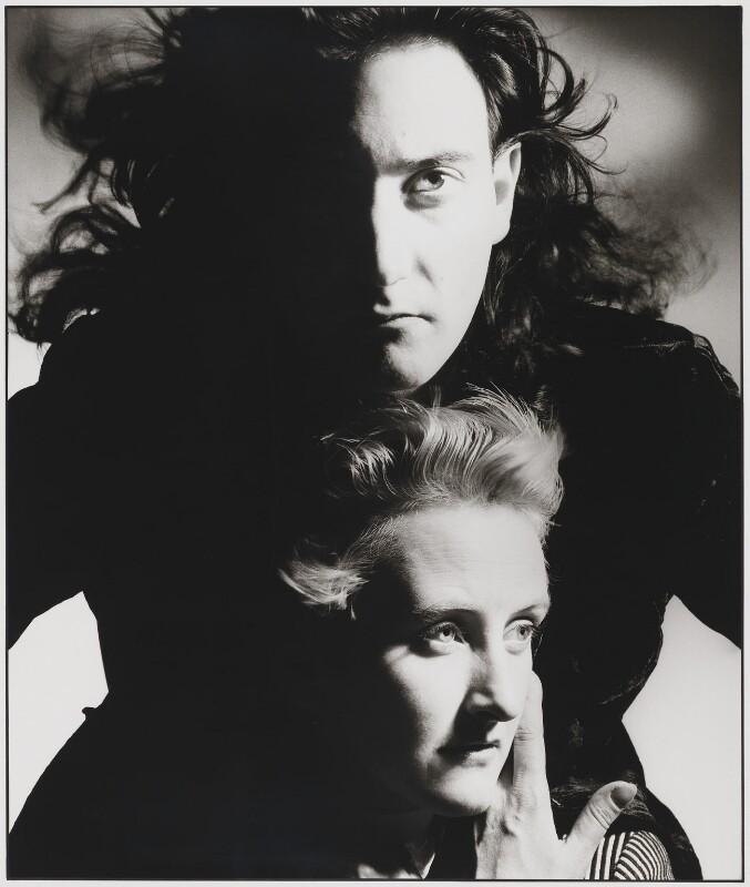 Scott Crolla; Georgina Godley, by Nick Knight, 1985 - NPG x26090 - © Nick Knight