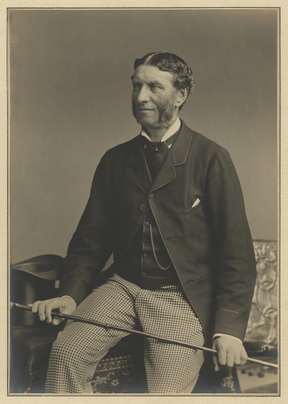 Matthew Arnold, by Elliott & Fry, circa 1883 - NPG x127404 - © National Portrait Gallery, London
