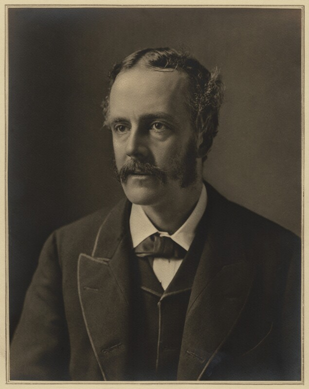 Arthur James Balfour, 1st Earl of Balfour, by Elliott & Fry, 1889 - NPG x127405 - © National Portrait Gallery, London