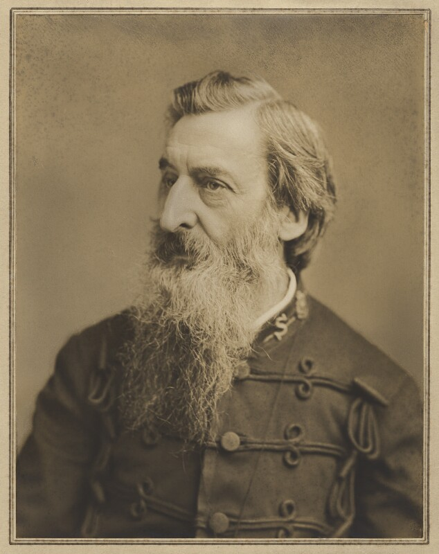 William Booth, by Elliott & Fry, 1884 - NPG x127412 - © National Portrait Gallery, London