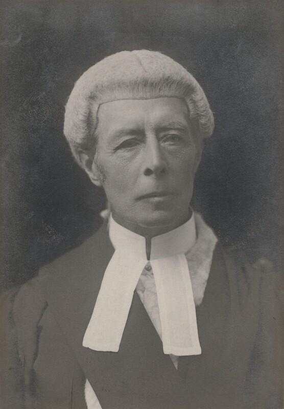 Sir Horace Edmund Avory, by Walter Stoneman, 1920s - NPG x19964 - © National Portrait Gallery, London