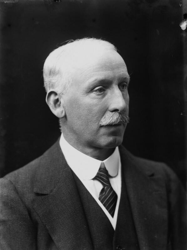 Sir Rowland Hirst Barran, by Walter Stoneman, 1917 - NPG x20728 - © National Portrait Gallery, London