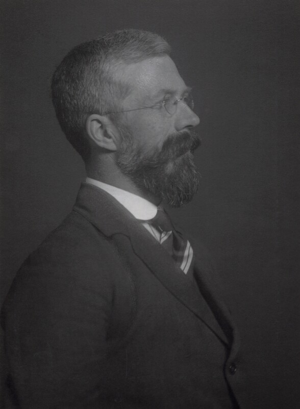 Sir Ronald Aylmer Fisher, by Walter Stoneman, 1931 - NPG x24051 - © National Portrait Gallery, London