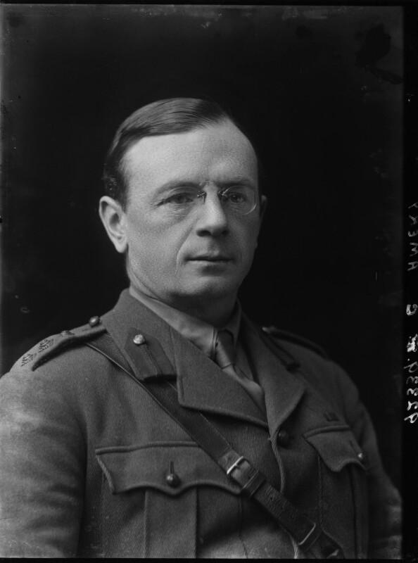 Leopold Stennett Amery, by Walter Stoneman, 1917 - NPG x24070 - © National Portrait Gallery, London