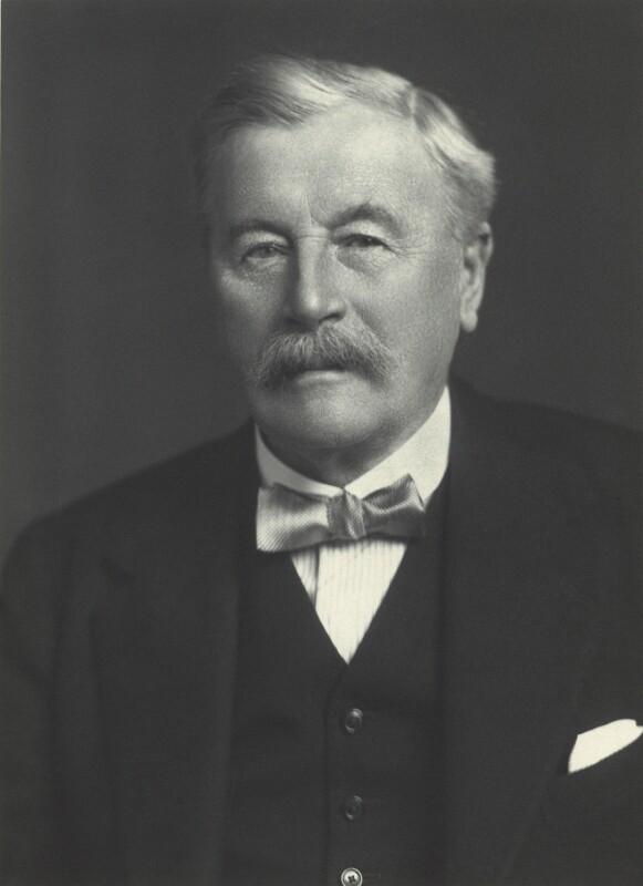 Sir William Mitchell Acworth, by Walter Stoneman, 1925 - NPG x27672 - © National Portrait Gallery, London