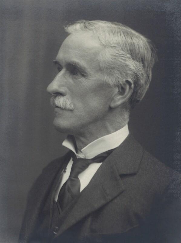 Sir Charles Stewart Addis, by Walter Stoneman, 1921 - NPG x28910 - © National Portrait Gallery, London