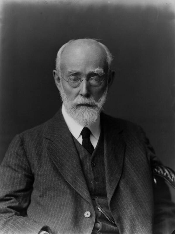 Sir Sidney Colvin, by Walter Stoneman, 1924 - NPG x31553 - © National Portrait Gallery, London