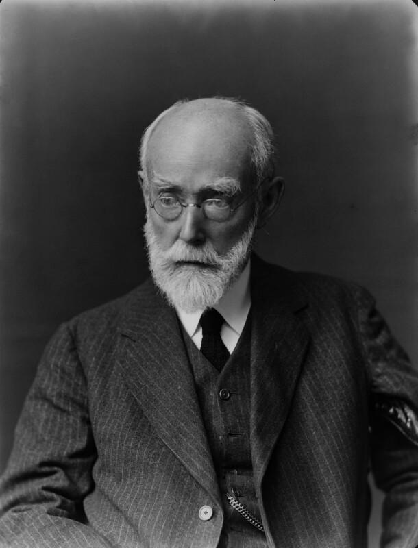 Sir Sidney Colvin, by Walter Stoneman, 1924 - NPG x31554 - © National Portrait Gallery, London