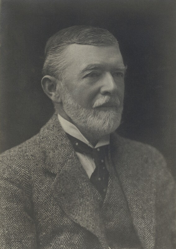 Henry Campbell Bruce, 2nd Baron Aberdare, by Walter Stoneman, 1917 - NPG x38246 - © National Portrait Gallery, London