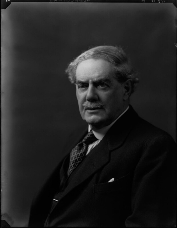 Charles Benjamin Bright McLaren, 1st Baron Aberconway, by Walter Stoneman, 1924 - NPG x38251 - © National Portrait Gallery, London