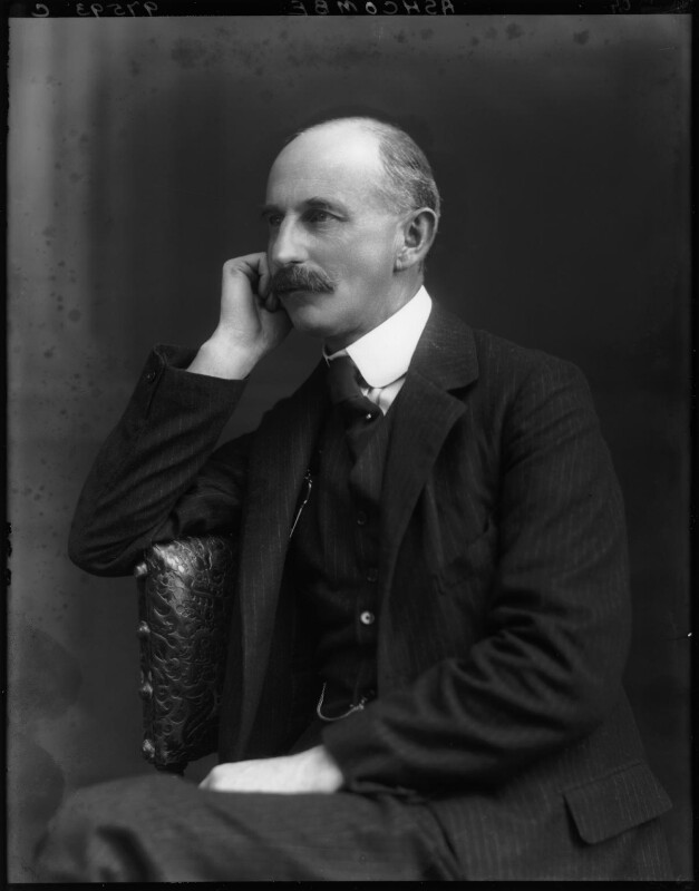 Henry Cubitt, 2nd Baron Ashcombe, by Walter Stoneman, 1920 - NPG x38257 - © National Portrait Gallery, London