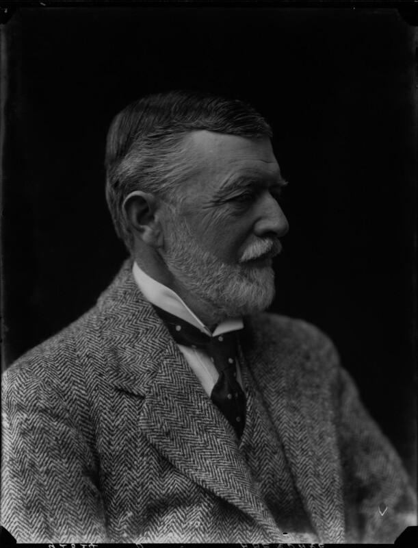 Henry Campbell Bruce, 2nd Baron Aberdare, by Walter Stoneman, 1917 - NPG x38265 - © National Portrait Gallery, London