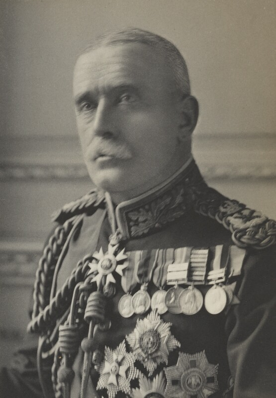 John Denton Pinkstone French, 1st Earl of Ypres, by Walter Stoneman, for  James Russell & Sons, circa 1916 - NPG Ax39002 - © National Portrait Gallery, London