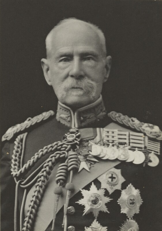 Frederick Sleigh Roberts, 1st Earl Roberts of Kandahar, Pretoria and Waterford, by Walter Stoneman, for  James Russell & Sons, circa 1916 - NPG Ax39018 - © National Portrait Gallery, London