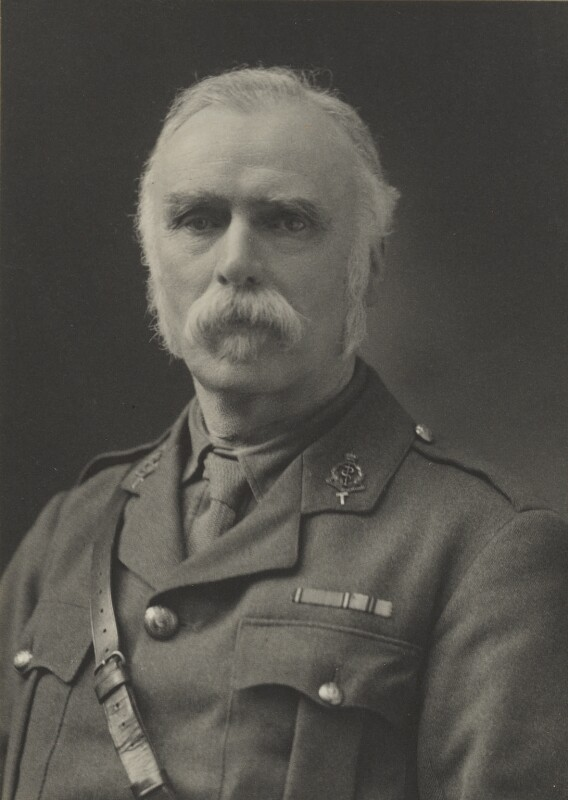 Sir Alfred Pearce Gould, by Walter Stoneman, for  James Russell & Sons, circa 1916 - NPG Ax39025 - © National Portrait Gallery, London