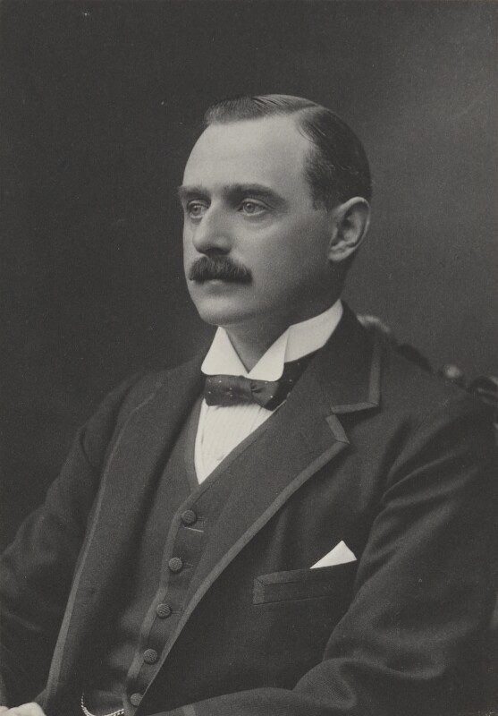 Arthur Cecil Murray, 3rd Viscount Elibank, by Walter Stoneman, for  James Russell & Sons, circa 1916 - NPG Ax39042 - © National Portrait Gallery, London