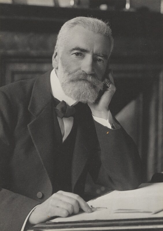 Sir John Anderson, by Walter Stoneman, for  James Russell & Sons, circa 1916 - NPG Ax39043 - © National Portrait Gallery, London