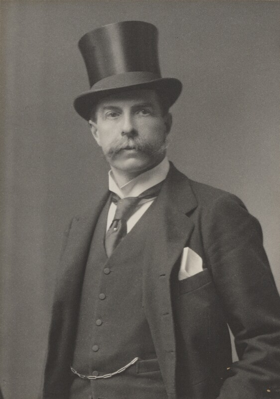Edward Strachey, 1st Baron Strachie, by Walter Stoneman, for  James Russell & Sons, circa 1916 - NPG Ax39075 - © National Portrait Gallery, London