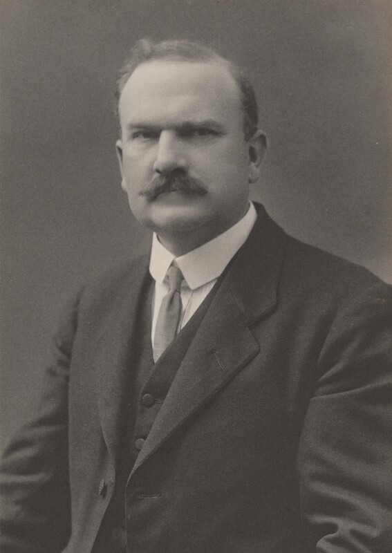Sir James William Greig, by Walter Stoneman, for  James Russell & Sons, circa 1916 - NPG Ax39083 - © National Portrait Gallery, London