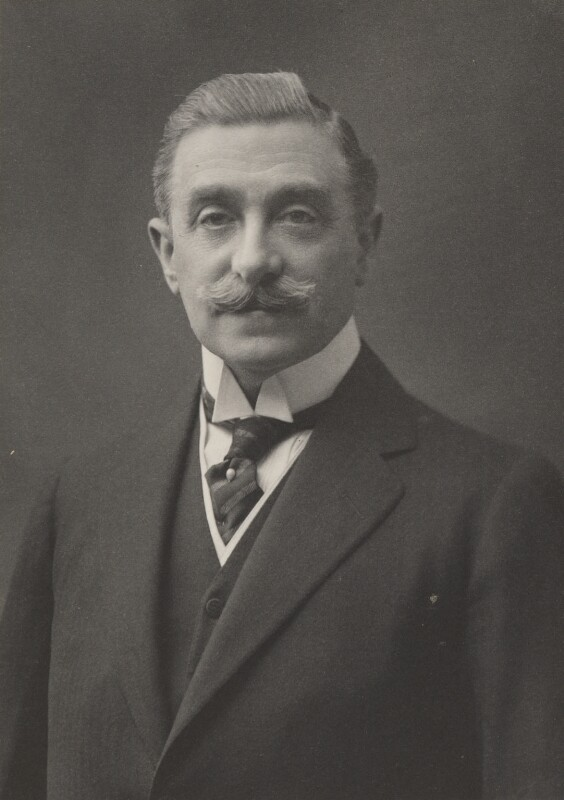 Sir Maurice Levy, by Walter Stoneman, for  James Russell & Sons, circa 1916 - NPG Ax39084 - © National Portrait Gallery, London