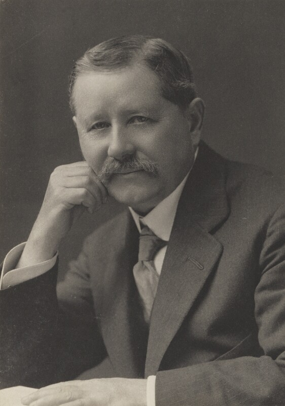 Sir Harry Hamilton Johnston, by Walter Stoneman, for  James Russell & Sons, circa 1916 - NPG Ax39104 - © National Portrait Gallery, London