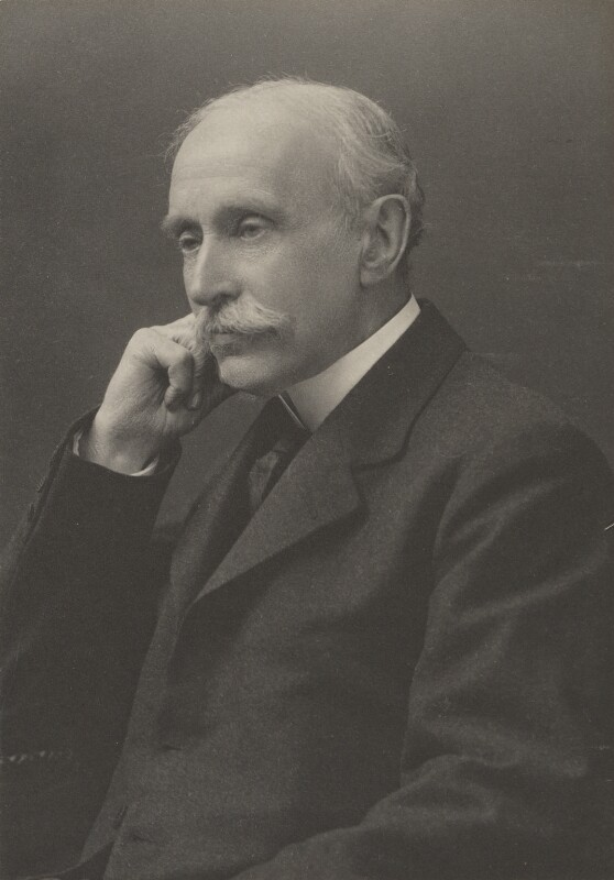 Sir John Macdonell, by Walter Stoneman, for  James Russell & Sons, circa 1916 - NPG Ax39105 - © National Portrait Gallery, London