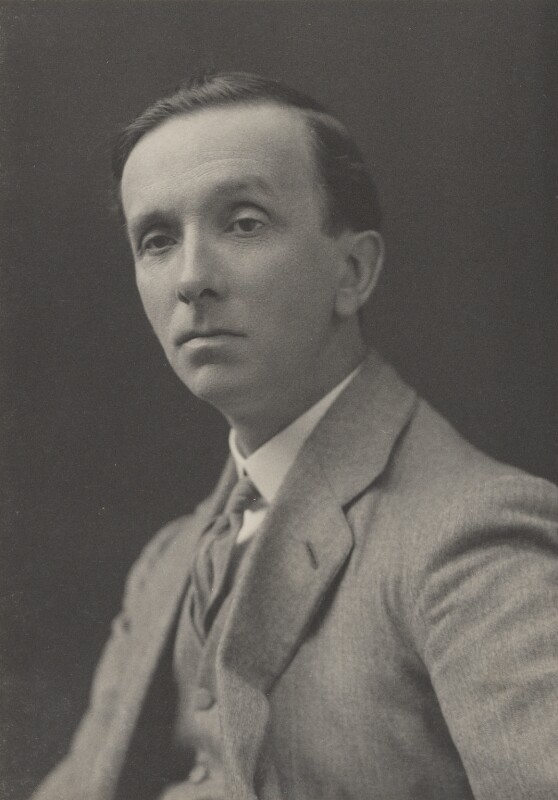 (Arthur) St. John Adcock, by Walter Stoneman, for  James Russell & Sons, circa 1916 - NPG Ax39136 - © National Portrait Gallery, London