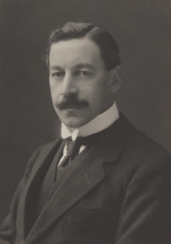 Herbert Louis Samuel, 1st Viscount Samuel, by Walter Stoneman, for  James Russell & Sons, circa 1916 - NPG Ax39163 - © National Portrait Gallery, London