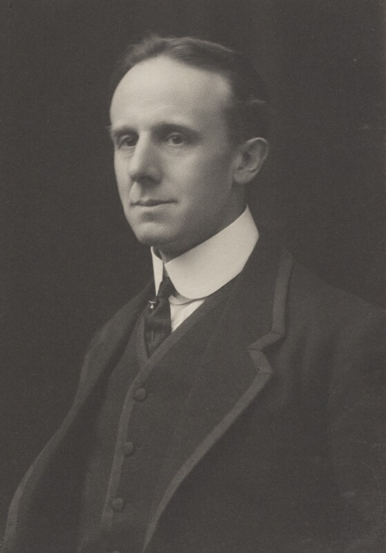 Sir Charles John Holmes, by Walter Stoneman, for  James Russell & Sons, circa 1916 - NPG Ax39189 - © National Portrait Gallery, London