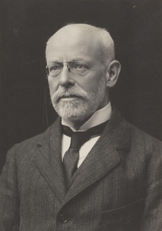 John Collier, by James Russell & Sons, 1915 - NPG Ax39219 - © National Portrait Gallery, London