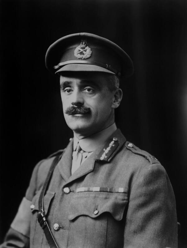 Rodolph Ladeveze Adlercron, by Walter Stoneman, 1917 - NPG x43249 - © National Portrait Gallery, London