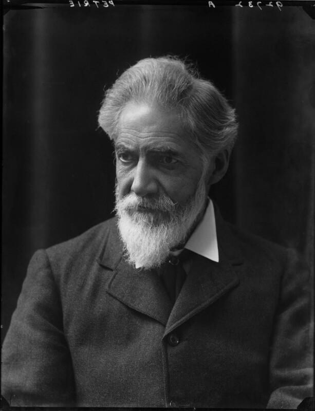 Sir (William Matthew) Flinders Petrie, by Walter Stoneman, 1917 - NPG x43311 - © National Portrait Gallery, London