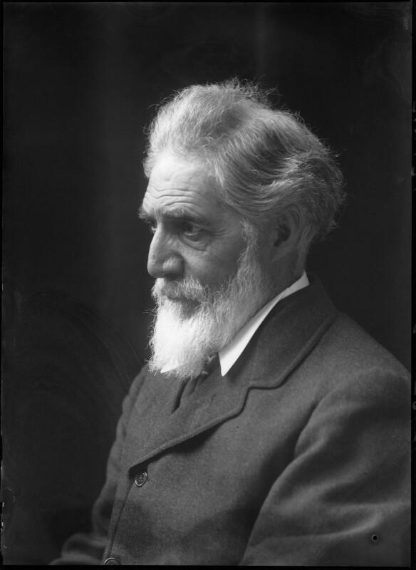 Sir (William Matthew) Flinders Petrie, by Walter Stoneman, 1917 - NPG x43312 - © National Portrait Gallery, London