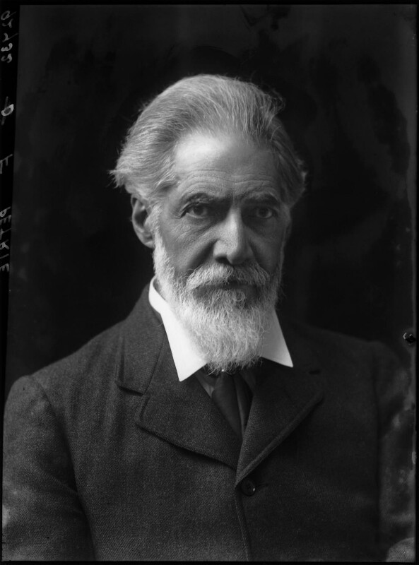 Sir (William Matthew) Flinders Petrie, by Walter Stoneman, 1917 - NPG x43314 - © National Portrait Gallery, London